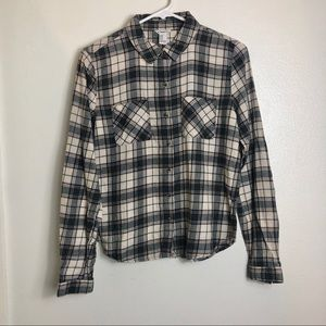 F21 Brown Flannel